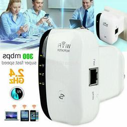 WiFi Blast Wireless Repeater Wi-Fi Range Extender 300Mbps Am
