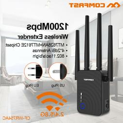 COMFAST 1200Mbps 5Ghz WiFi Wireless Extender Range Booster A