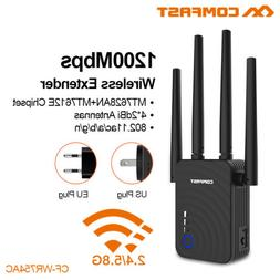 1200Mbps Dual Band 2.4/5GHz SKY Wireless Repeater WiFi Range