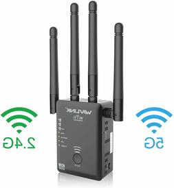 1200mbps wifi range extender wireless signal repeater