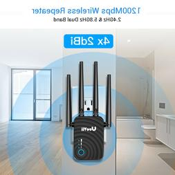 1200Mbps WiFi Repeater Extender Signal Range Booster Amplifi