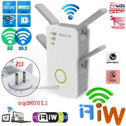 1200Mbps Wifi-Repeater,Wireless-N Range Extender&Signal Boos