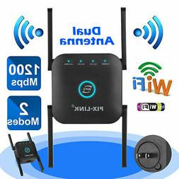 1200Mbps Wireless WiFi Range Extender Repeater Signal Booste