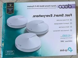 3 Pack TP-Link Deco M9 Plus Tri-Band WiFi System with Built-