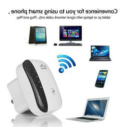 300Mbps Wireless WiFi Repeater Range Extender Signal Super B