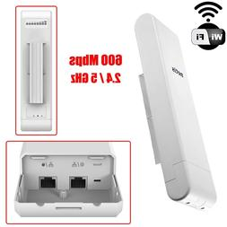 600Mbps Outdoor Wireless N Access Point WiFi Long Range Rout