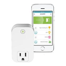 D-Link Smart Plug, Wi-Fi, On/Off, Works with Alexa and Googl