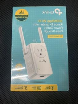 Tp-link - Wireless N300 Wi-fi Range Extender With Ac Passthr