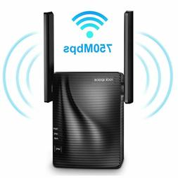 Rock Space AC 750 Dual Band WiFi Repeater WiFi Range Extende