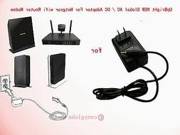 AC Adapter For Netgear Dual Band Wireless Cable Router Modem