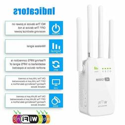 AC1200 Dual Band Wifi Repeater/&Router 2.4G/& 5G Wireless Range Extender 4 Antenna