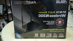 BRAND NEW ASUS RT-N12/D1 Wireless-N300 3-in-1 Router/AP/Rang