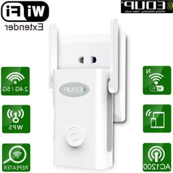 EDUP Dual Band AC 1200Mbps WiFi Repeater Wireless Range Exte