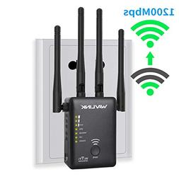 WAVLINK 1200Mbps Dual Band 2.4G and 5G WiFi Range Extender w