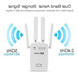 Home WiFi Repeater Wireless Router Range Extender Signal Boo