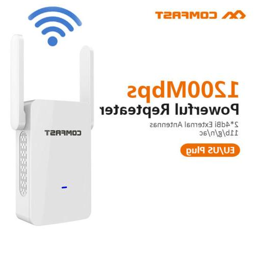 Comfast 1200Mbps 2.4G 5G WiFi Range Booster Network Extender