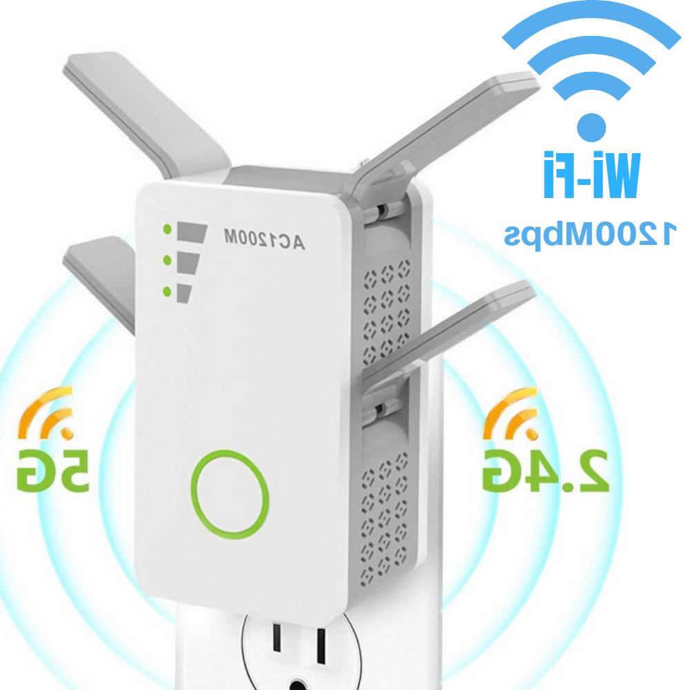 1200mbps wifi range extender repeater wireless amplifier