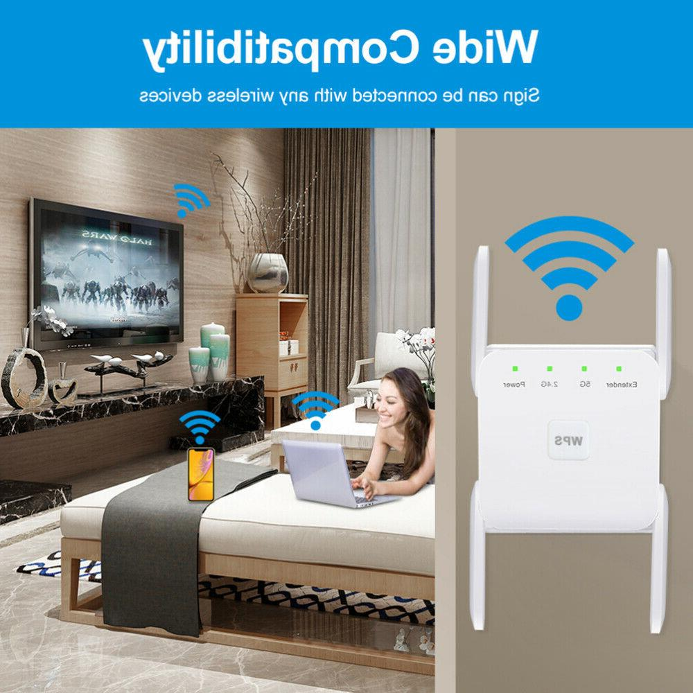 1200Mbps Wifi Repeater Wireless-AC Range
