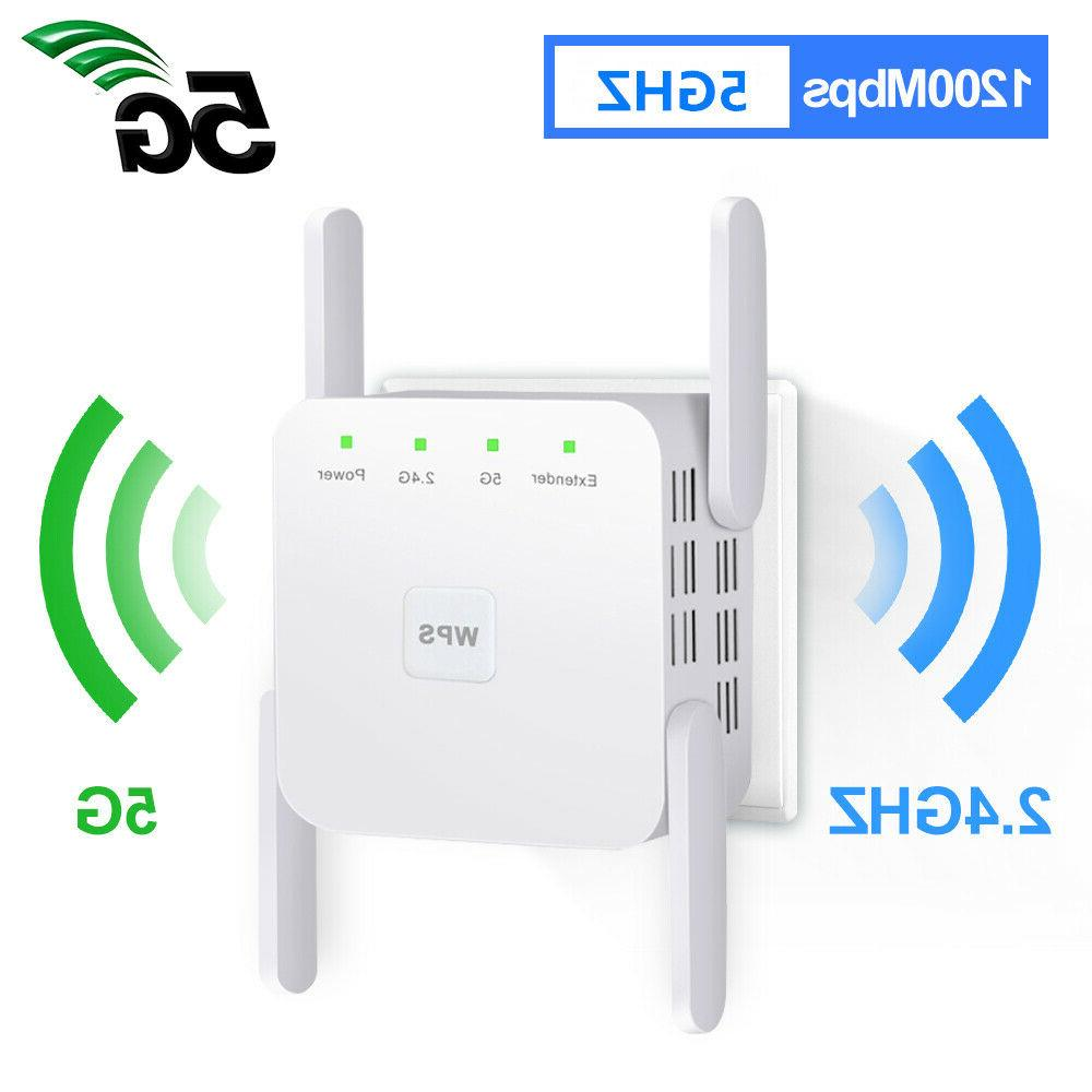 1200mbps wifi repeater wireless ac range extender