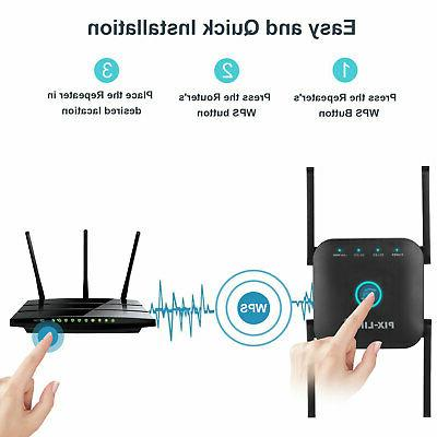 1200Mbps Wireless WiFi Extender Network Router