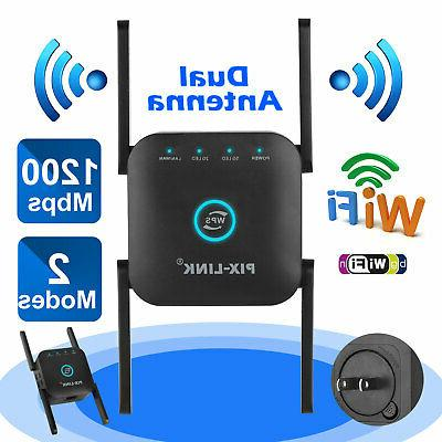 1200mbps wireless wifi range extender repeater signal
