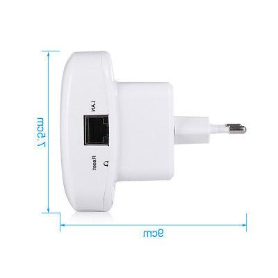 300Mbps Repeater Wireless-N 802.11 Extender Signal Range