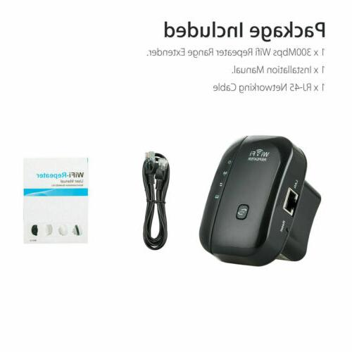 US Wifi Repeater Amplifier 300Mbps