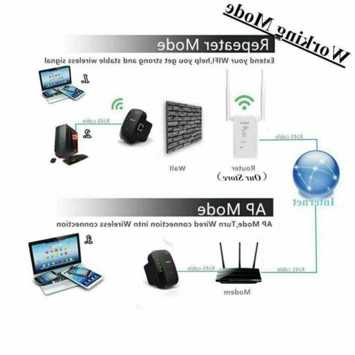 US Wifi Repeater Amplifier 300Mbps Router