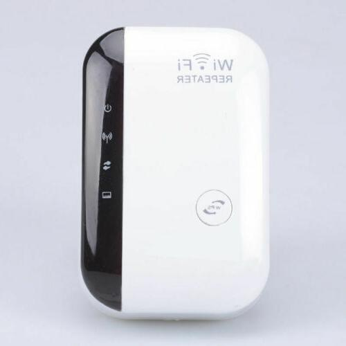 300Mbps Repeater 802.11 AP Router Extender Signal Range