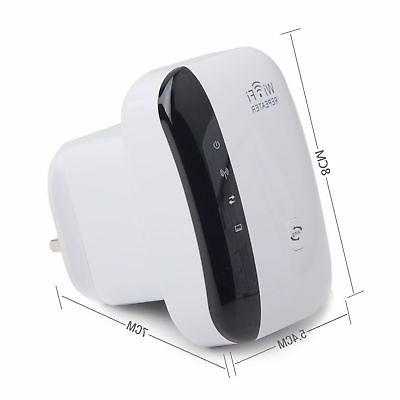 300Mbps Wifi Repeater Wireless-N 802.11 AP Router Signal Booster