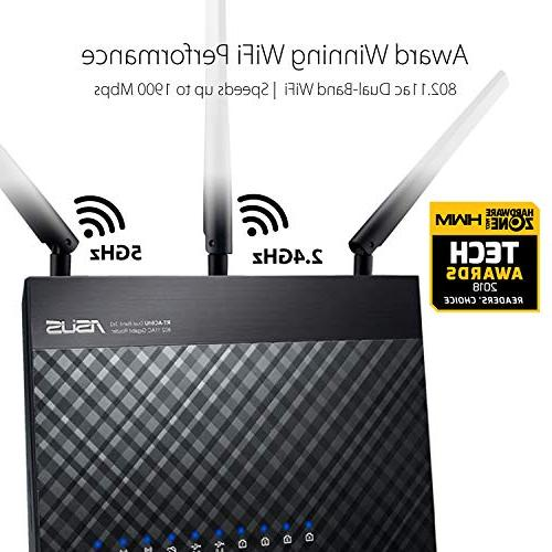 ASUS Home AiMesh for Network Security by Micro, QoS & Parental