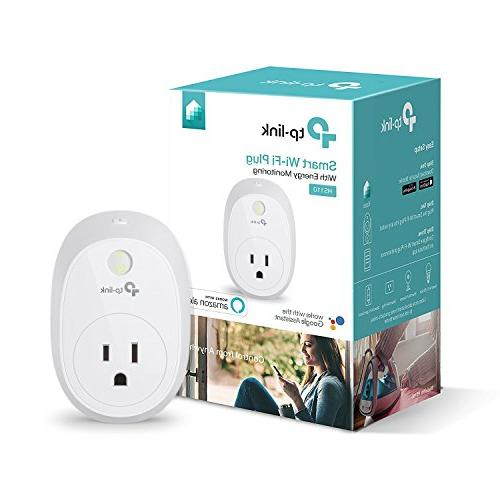 Kasa Smart Plug Outlet w/Energy Monitoring by TP-Link - Reli