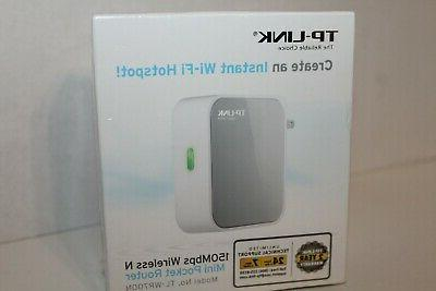 TP-Link N150 Wireless Wi-Fi Portable Router with Range Exten