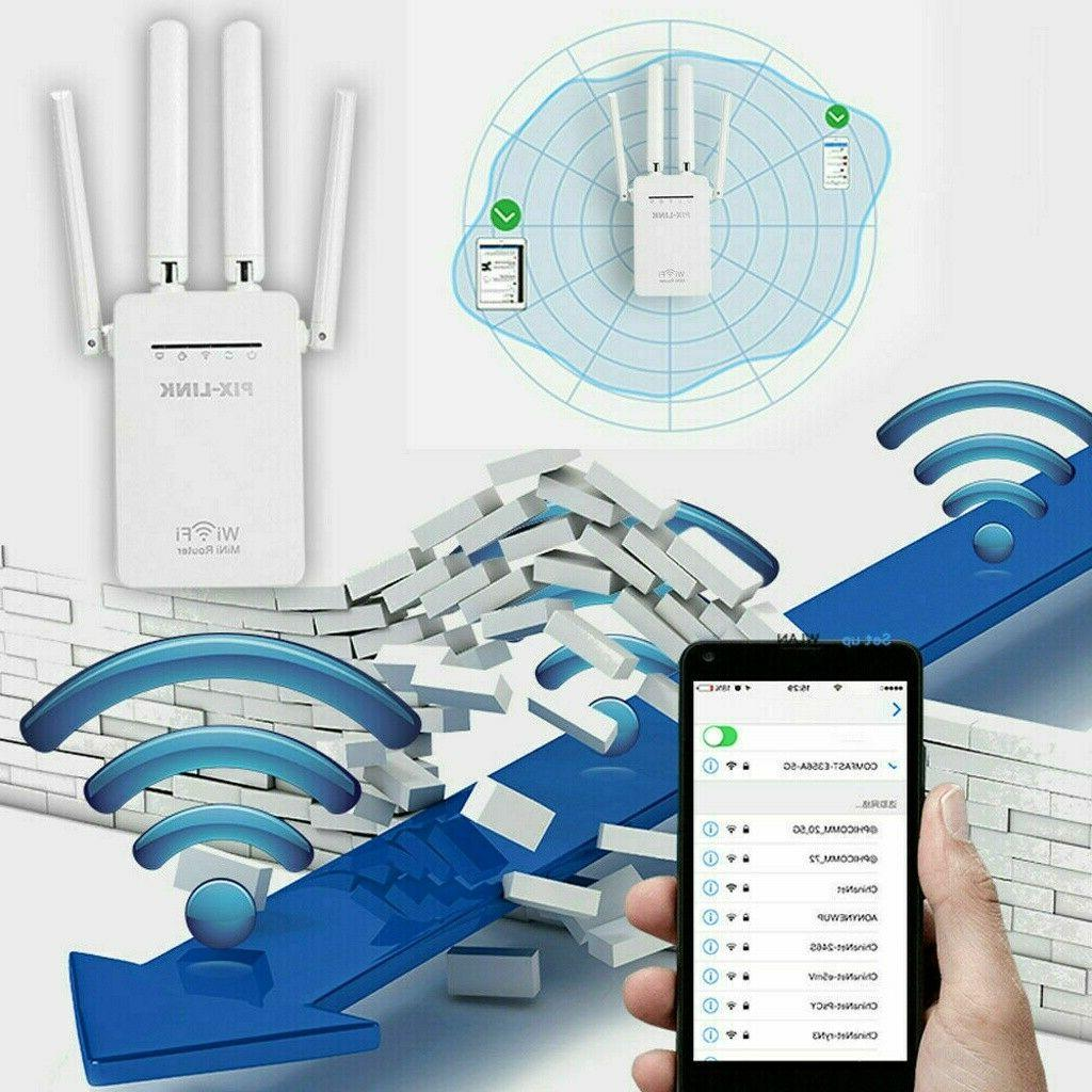 AC1200 Repeater Wireless 300M Router Signal Booster Gigabit