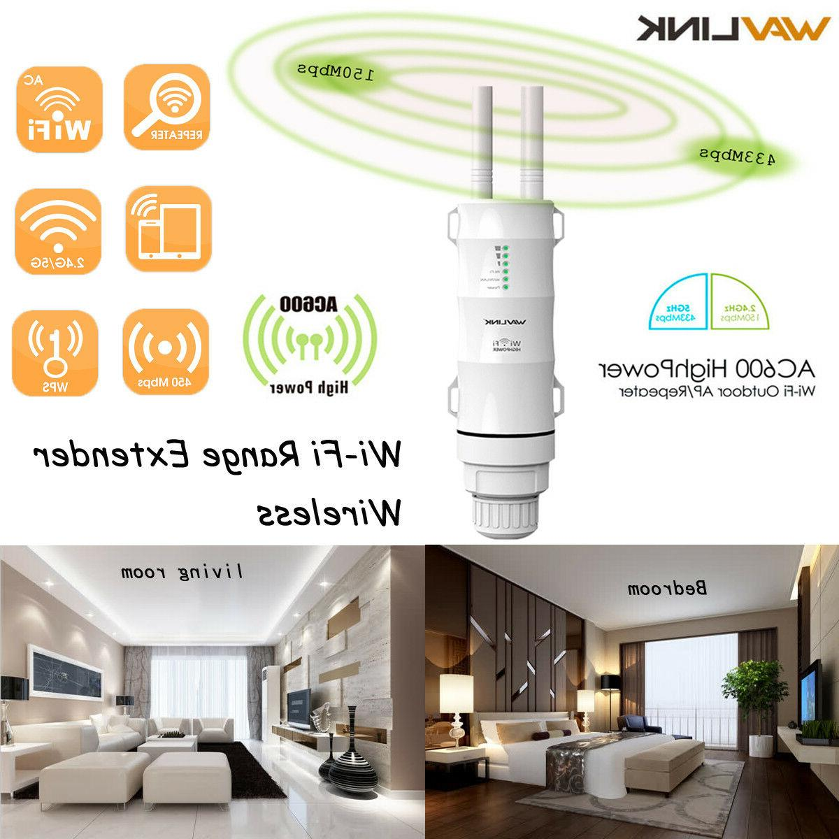 power wifi repeater dual band