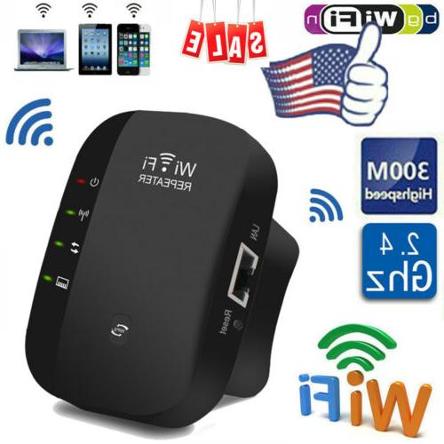 US Range Repeater Wireless Router Signal Booster