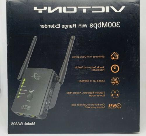 VICTONY 300Mbps WiFi Signal Booster