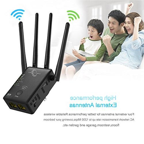 VICTONY Range 1200Mbps with Antennas WiFi 2.4G and 5G