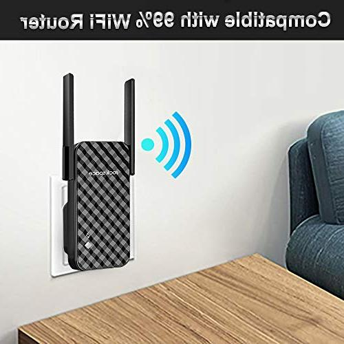 WiFi 300Mbps WiFi Signal Booster, Simple Extender
