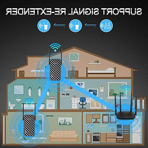 WiFi Extender 300Mbps Signal Booster, WiFi Booster, Extender