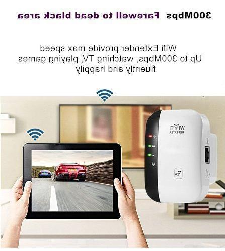 WiFi Range Extender Mbps Signal Easy WLAN Amplifier Access Point Dongle - New Chip