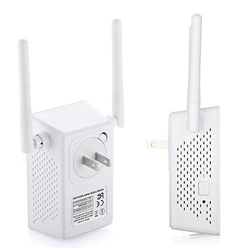 Wifi Repeater, Range Extender Booster Wireless Ethernet Port 802.11n/b/g Repeater/Router/AP