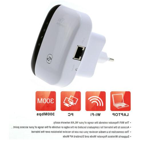 WiFi Router Wireless Range Extender AC750 Signal Booster Wir