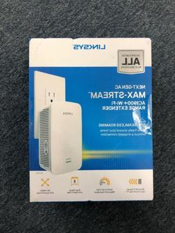 Linksys Max-Stream AC1900+ Dual-Band Wi-Fi Range Extender |