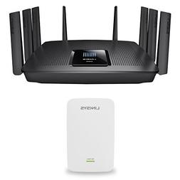 Linksys Max-Stream MU-MIMO Tri-Band AC5400 Wi-Fi Router  & L