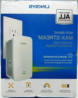 Linksys Max-Stream RE7000 IEEE 802.11ac 1.86 Gbit/s Wireless