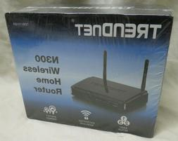 TRENDnet N300 TEW-731BR Wireless Home Router Black Encrypted