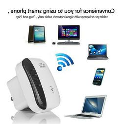 NEW 300Mbps Wireless WiFi Repeater Signal Super Booster Ampl