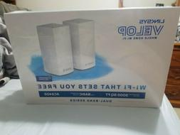 New Linksys Velop AC2400 Dual-Band Mesh Whole home Wi-Fi Sys