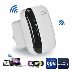 300Mbps Wireless N 802.11 Wifi Repeater AP Range Router Exte